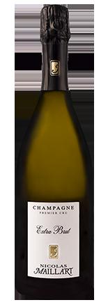 champagne premier cru extra brut Nicolas Maillart